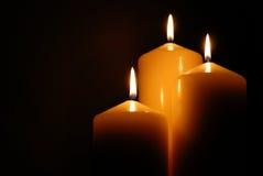 理想的蜡烛 免版税库存照片