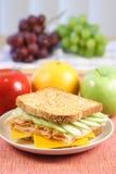 理想的野餐三明治 免版税库存图片