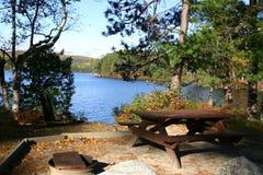 理想的野餐地点 免版税库存图片