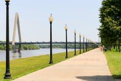 理查L Berkley河边区公园 库存图片
