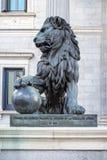 代理的国会,马德里,西班牙 库存图片