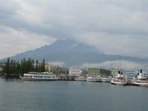 琉森湖,瑞士 图库摄影