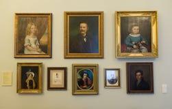 琥珀博物馆 免版税库存照片