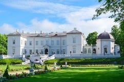 琥珀色的博物馆在植物的公园,帕兰加,立陶宛 免版税图库摄影