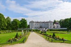 琥珀色的博物馆,帕兰加,立陶宛 库存图片