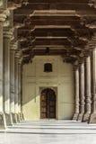 琥珀色的堡垒内部 免版税库存照片