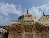 琥珀色的堡垒:Ganesh波尔布特 免版税图库摄影