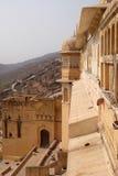 琥珀色的堡垒 免版税图库摄影