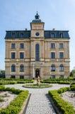 琥珀色的宫殿在Wloclawek 免版税库存图片