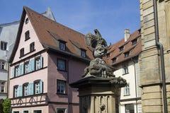 琥珀建筑学,德国 库存照片