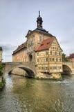 琥珀Townhall,德国 免版税库存照片