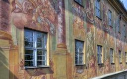 琥珀Townhall,德国 免版税库存图片