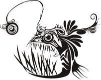 琵琶鱼 免版税库存照片