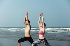 瑜伽健康灵性锻炼凝思医疗保健Concep 免版税库存图片