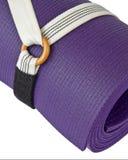 瑜伽健身席子 免版税库存图片