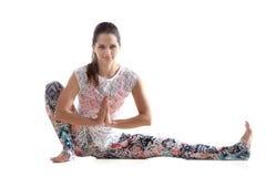 瑜伽实践 库存照片