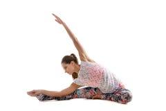 瑜伽实践 免版税库存图片