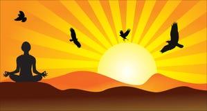 瑜伽自然创造性的概念国际性组织 免版税图库摄影