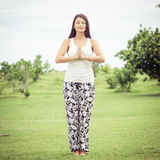 瑜伽 瑜伽 免版税库存图片