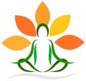 瑜伽 皇族释放例证