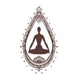 瑜伽2 免版税库存图片