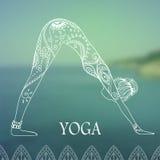 瑜伽2 图库摄影