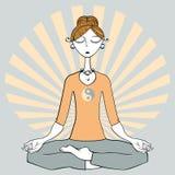 瑜伽 向量例证
