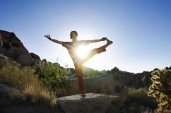 瑜伽Prana 免版税库存照片