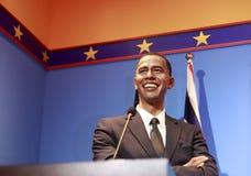 巴瑞克奥巴马总统蜡象  图库摄影