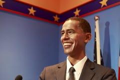 巴瑞克奥巴马总统蜡象  免版税库存照片