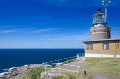 瑞典人西海岸灯塔 免版税库存图片