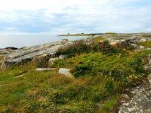 瑞典人Westcoast风景Tylosand,哈尔姆斯塔德 免版税图库摄影