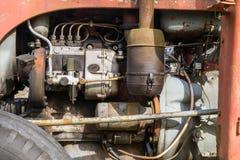 瑞典厄勒布鲁04 09 2017年福格逊拖拉机用内燃机 免版税库存照片