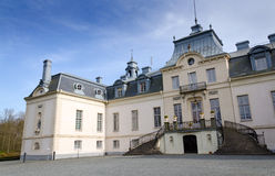 瑞典城堡详细资料 免版税库存图片