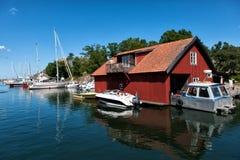 瑞典夏天 库存图片
