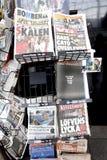 瑞典媒介和竞选 库存图片