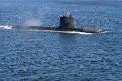 瑞典攻击潜水艇HMS Uppland 免版税库存照片