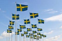 瑞典标志 图库摄影