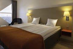 瑞典样式旅馆客房 库存照片