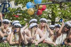 瑞典毕业 免版税库存照片