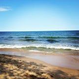 瑞典海滩 免版税图库摄影