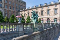 瑞典王宫 免版税库存照片