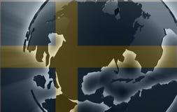 瑞典的标志 库存图片