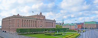 瑞典的议会 免版税库存图片