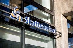 瑞典税机构 免版税库存图片
