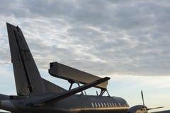 瑞典空中预警和控制航空器 免版税库存照片