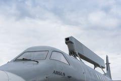 瑞典空中预警和控制航空器 免版税库存图片