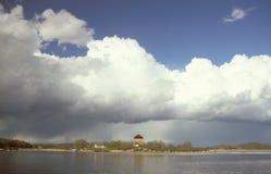 瑞典群岛风景在卡尔斯克鲁纳 库存图片