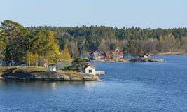 瑞典群岛 库存图片