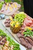 瑞典肉开胃菜 库存图片